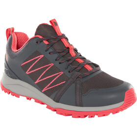 The North Face Litewave Fastpack II Shoes Dame ebony grey/atomic pink